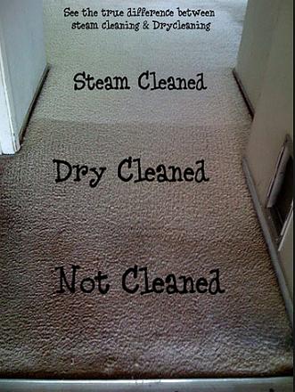 Dry vs Steam Carpet cleaning methods